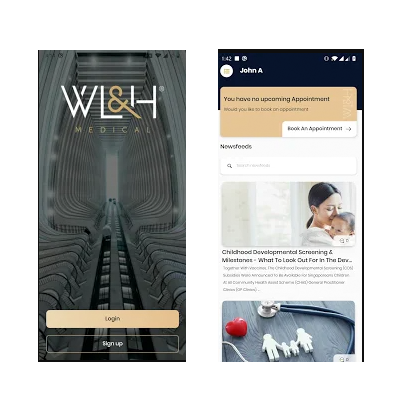 WL&H Medical Mobile App